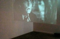 Installation Detail –Projection Screen, Spencer Tracy