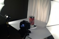 Lighting Set Up for Heart in a Jar Shoot – View 2
