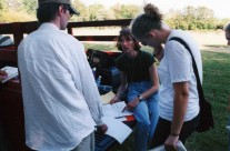 Production Meeting On Location
